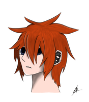 Anime Character Coloured yay :P by TheCrimsonCanvas