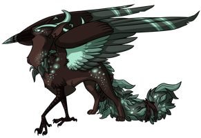 Egg #2 - Guardian of the Swamp by Kingfisher-Gryphon