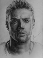 Jensen Ackles by SeriousAngel
