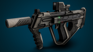 Halo Online Smg by XInfectionX