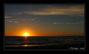 Sunset at Port Philip Bay by Belldandy1