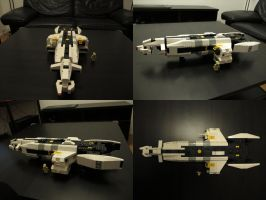 LEGO gunship 01 by Bocma