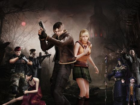 Resident evil wallpaper 10 by ethaclane