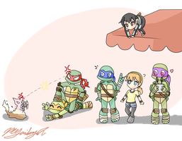 Just TMNT by Neko-mirichan