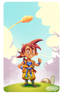 Kid Goku by DanielStone