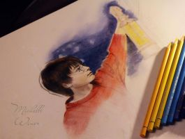 Harry Potter and Philosopher's Stone sketch by Michelle-Winer