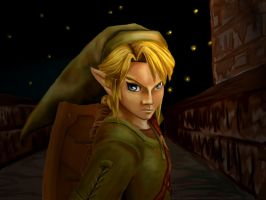 Zelda's Link by SilvrRainFell