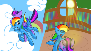 Ride and Tickle! by Chrystalestia