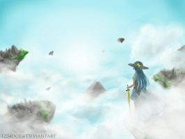Heavenly Landscape by VenomousBlaze