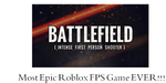 Most Epic Roblox FPS Game by NolerRobert