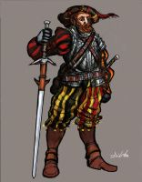 Landsknecht by TheLivingShadow