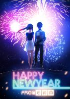 Happy New Year from ENM by moxie2D