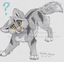Takuma the wolf pup by NatsumeWolf