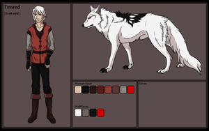 Tenred Character Profile by Cylithren