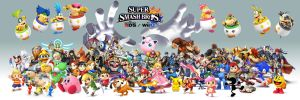 Smash Bros Wii U 3DS by Trikeboy2