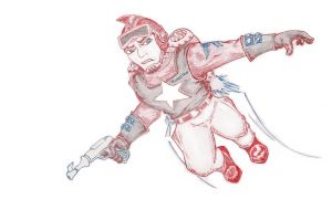 Capt. Anthony 'Buck' Rogers by grimjack-13