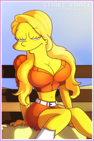 Lisa Simpson by Strike-Force