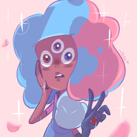 Ruby and Sapphire's first fusion~ by chibiirose