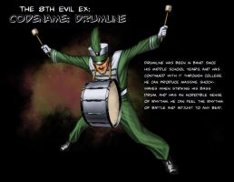8th Evil Ex: Drumline by JamesDenton