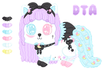 DTA || Pastel Goth Wishful || OPEN by CuteWish