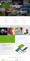 Cake - WP - Theme by webdesigngeek