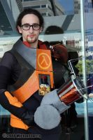 Gordon Freeman 1 by Insane-Pencil