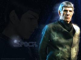 Spock The Vulcan by KadouCreations