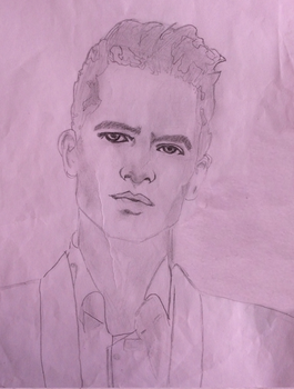 Brendon Urie   drawing by serenaross