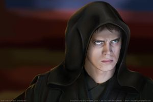Anakin Skywalker by redderz