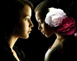 The Hunger Games. Katniss and Rue by StalkerAE