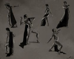 Figure Drawings, 2014-05-13 by zacharyknoles