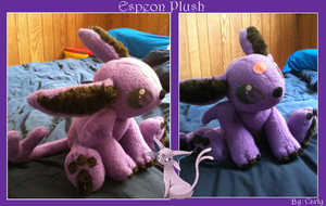 Espeon Plush by Carly707