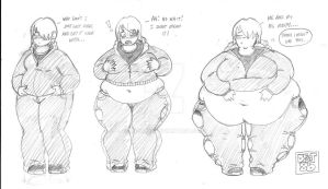 Hoodie Girl WG Progression by DFoot86