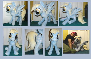 ::-HUGE Derpy Plush - Sold-:: by Soft-Sensations