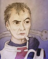 ME2: George Takei as Mordin Solus by sqbr