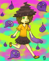 Halloween witch by Heumilch
