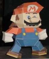 Mario 64 by paperart