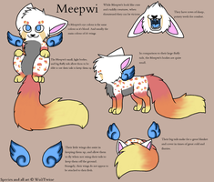 Meepwi - Species Ref by WolfTwine