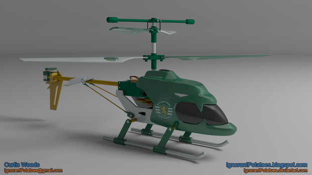 RC Helicopter - SCP by IgnorantPotatoes