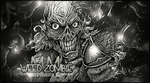 Weed Zombie BW by MMFERRA
