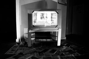 TV and newspaper by malsev