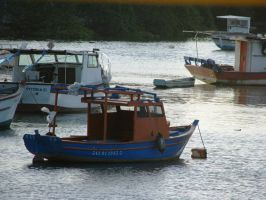 Docked Boats by LuLove