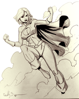 Power Girl by ReillyBrown