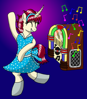 Sock Hop (Competition Piece) by heartshielder1991
