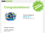 You're a Backer of Mighty No. 9 by ToastBlues