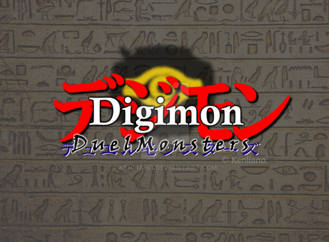 Digimon: Duel Monsters logo concept by Kenliano
