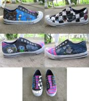 Alice in Wonderland Shoes by Syomy
