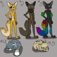 Point Adoptables (CHEAP - 50 points each!) by lalalala3