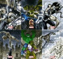 Marvel Heroes and Villains 15 by RichardCox