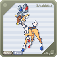 Fakemon: Gausselle by The-Knick